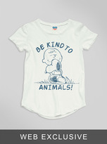Junk Food Clothing Kids Girls Be Kind To Animals Tee-sugar-l