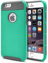 iPhone 6 case, Apatner Hybrid Rugged Rubber Hard Shockproof Case Cover Skin for iPhone 6 6S(Green)