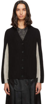 Maison Margiela Black Gauge 5 Cardigan