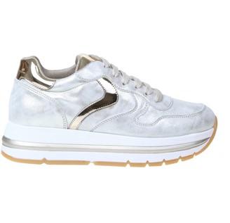 Voile Blanche Maran Sneakers In Platinum Calfskin