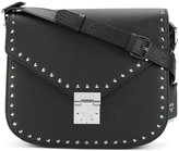 MCM studded satchel bag - women - Leather/Suede - One Size