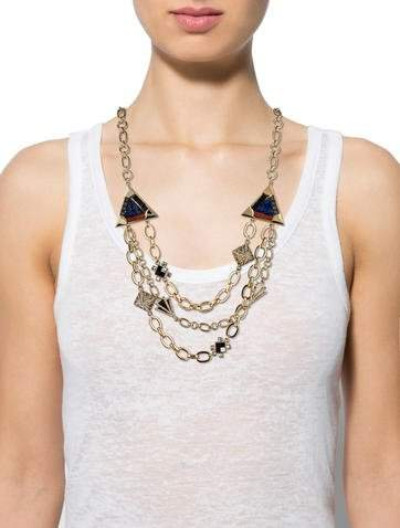 Lulu Frost Mosaic Petra Necklace