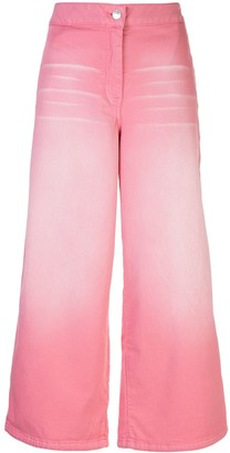 Kenzo Faded Cropped Jeans