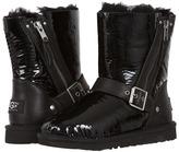 UGG Blaise Patent (Toddler/Little Kid/Big Kid) (Black) - Footwear