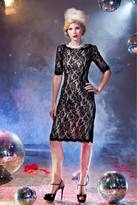 Shabby Apple With This Ring Sheath Dress Black