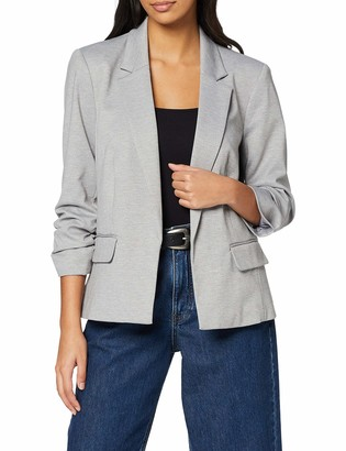Miss Selfridge Women's Grey Ponte Blazer Casual 6