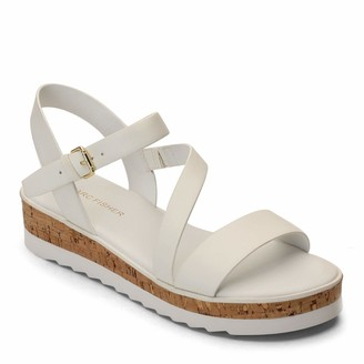 Marc Fisher Women's Grandie Wedge Sandal
