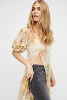 Free People There For You Printed Tunic