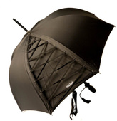 Jean Paul Gaultier Black Umbrella