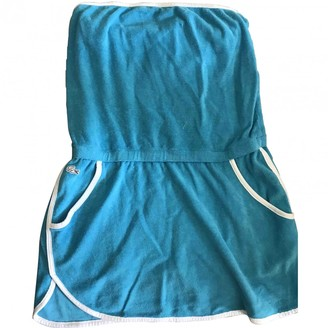 Lacoste Live Turquoise Sponge Dress for Women