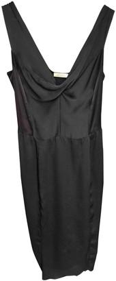 Nina Ricci Black Silk Dresses