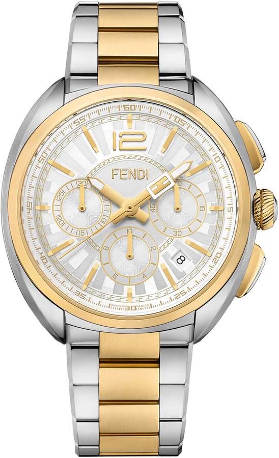 Fendi Momento Chronograph Bracelet Watch, 46mm