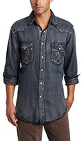 Wrangler Men's Authentic Cowboy Cut Work Western Long-Sleeve Shirt
