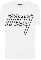 McQ Embellished cotton T-shirt