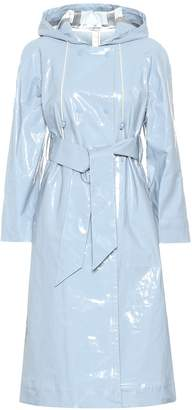 ALEXACHUNG Cotton-blend trench coat