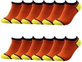 RUIXI Men's 12 Pack Comfort Ankle No Show Socks