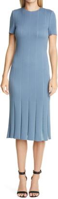St. John Modern Pique Knit Dress