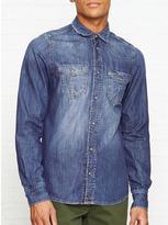 Diesel Broome Long Sleeve Denim Shirt