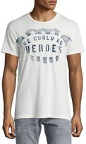 Sol Angeles Heroes Crewneck T-Shirt, White