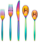 Cambridge Silversmiths Silas Rainbow Mirror 20-Pc. Stainless Steel PVD Flatware Set, Service For 4