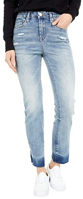 Blank NYC Sustainable Madison Crop Skinny Jeans w/ Inseam Slit in Culture Shock (Culture Shock) Women's Jeans