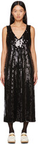 Thumbnail for your product : Anna Sui Black Sequin Midnight Dress