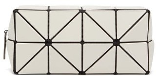 Bao Bao Issey Miyake Lucent Frost Boxy Pvc Pouch - Light Grey