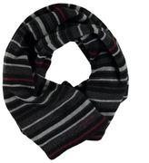 Firetrap Mens Striped Scarf Fine Knit Muffler Snow Winter Warm Chuddar Wrap
