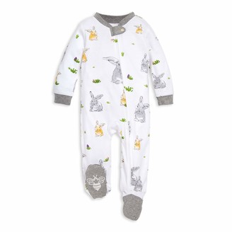 Burt's Bees Baby Baby Girls & Play Organic One-Piece Romper-Jumpsuit Pj Zip Front Footed Pajama and Toddler Sleepers