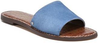 Sam Edelman Gio Suede Flat Sandals