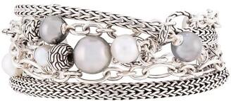 John Hardy Classic Chain multi row bracelet