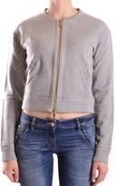 Pinko Women's Grey Cotton Sweatshirt.