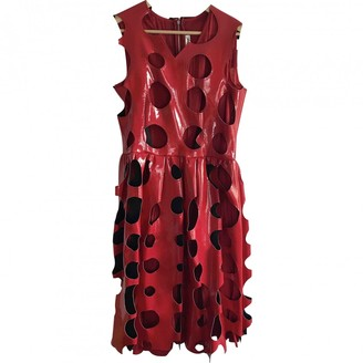 Comme des Garcons Red Synthetic Dresses