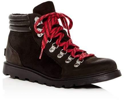b744a2c52 Sorel Black Leather Upper Women's Boots - ShopStyle