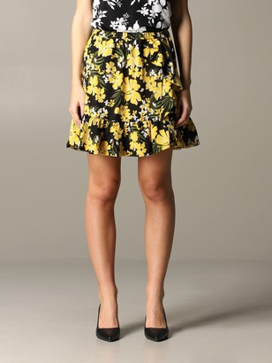 MICHAEL Michael Kors Skirt With Floral Pattern