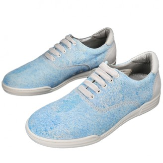 Marc Jacobs Blue Suede Trainers