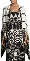 Nic+Zoe Wild Things Graphic Print Maxi Dress, Plus Size