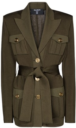 Balmain Belted cardigan