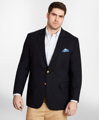 Brooks Brothers Big & Tall Two-Button 1818 Blazer