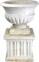 One Kings Lane Vintage Garden Urn & Pedestal
