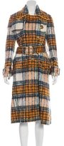 Burberry Plaid Trench Coat w/ Tags