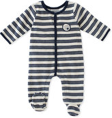 Absorba Navy Stripe Footie - Infant