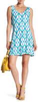 Tart Charlie V-Neck Printed Dress