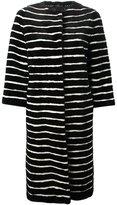 Liska - striped mink fur coat - women - Mink Fur - L