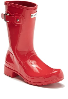 Hunter Original Tour Short Gloss Packable Rain Boot