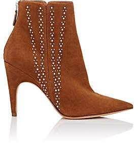 Derek Lam Women's Isla Studded Leather Ankle Boots - Luggage