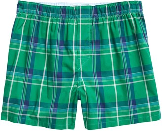 Banana Republic Ernie Plaid Boxer