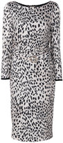 Roberto Cavalli leopard print dress - women - Silk/Viscose/Virgin Wool - 44