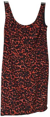 Ann Taylor Red Silk Dress for Women