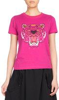 Kenzo Tiger Classic Pullover T-Shirt, Fuchsia